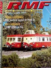 RMF Rail Miniature Flash n°451 2002 - La BB 12000 de TRIX - Tr.20