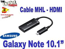 Cable MHL HDMI para tablet Samsung Galaxy Note 3 10.1""
