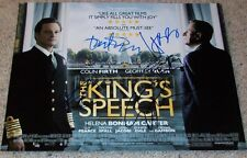 THE KING'S SPEECH SIGNED 11x14 PHOTO w/PROOF COLIN FIRTH HELENA BONHAM CARTER +3