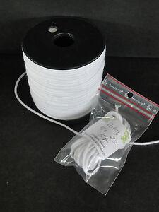 2.5mm (5 Metros) Elástico de Algodón Para / De Restauración Muñeca Antigua