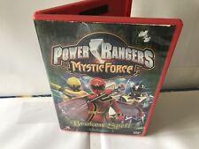 Power Rangers Mystic Force Broken Spell Volume 1 Buena Vista Bandai DVD Movies