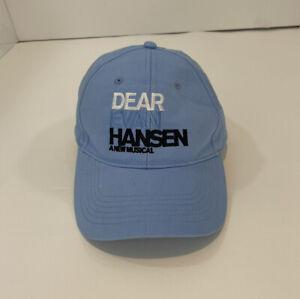 Dear Evan Hansen Fan Day Exclusive Rare Merch Broadway Musical Baseball Hat