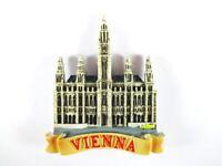 Viena Ayuntamiento de la Ciudad Vienna Austria Poly Imán Recuerdo Austria, Nuevo