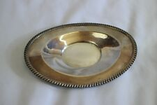 Vintage SHEETS ROCKFORD Co 1875 Silver Dish Plate SERVING TRAY Platter