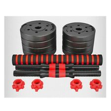 1 Pair Adjustable Weight Dumbbells Set Weights Fitness Gym Exercise 30kg/66lbs