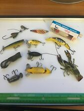 GROUP LOT OF 11 MOST ARBOGAST VINTAGE FISHING LURE LURES ANTIQUE OLD TACKLE NEAT