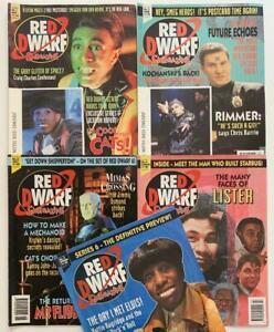 Red Dwarf Smegazine / Magazine #1 to #5. (Fleetway 1993) FN- to VF condition.