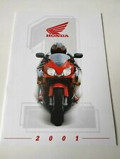 Prospectus Catalogue Brochure Honda Gamme 2001 Rép. Tchèque