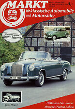 5363OM Oldtimer Markt 1987 2/87 Goliath Morris Minor New Imperial Peugeot 404