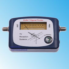 Puntatore Terrestre DVB-T Misuratore di Campo Antenna Digitale Finder DVBT Meter