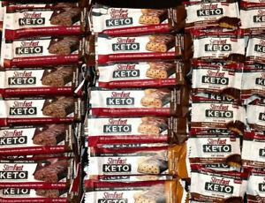 116 ASSORTED Meal Bars - SLIM FAST KETO BARS  NO RESERVE LQQK !!!!
