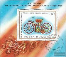 Rumänien Block217 (kompl.Ausg.) gestempelt 1985 Motorräder