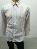 Camicia TOMMY HILFIGER Uomo Taglia Size XL Shirt Man Chemise Homme Cotone 8028