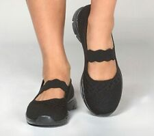 Skechers Women's Mary Jane, Seager Power Hitter 49622/BBK.  Comfort Shoe