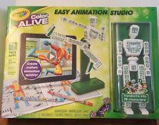 New Crayola Easy Animation Studio Cartoon Drawin Gift Boy Girl Toy Art Creative