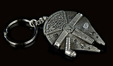 Star Wars Millennium Falcon Pewter Key Chain from Qmx- Free S&H(Swkc-01)
