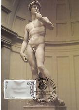 Skulptur des David  BRD 1986