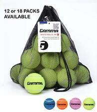 Gamma Bag of Pressureless Tennis Balls - Sturdy & Reuseable Mesh Bag with Drawst