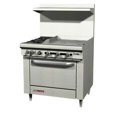 Southbend S36d 1gl 36 S Series Range With 4 Gas Burners Amp 12 Griddle On Left