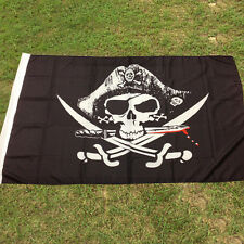 Newly 9 * 150cm HUGE 3x5 FT Skull Cross Sabres Swords Jolly Roger Pirate Flag