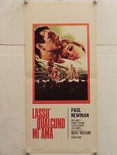 LASSU' QUALCUNO MI AMA pugilato regia Robert Wise locandina orig. 1963