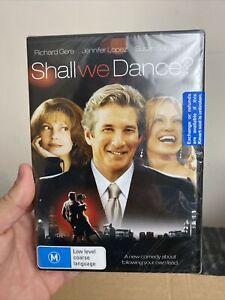 DVD SHALL WE DANCE RICHARD GERE JENNIFER LOPEZ BRAND NEW SEALED REGION 4