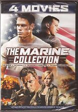 The Marine Collection 1, 2, 3 & 4 - DVD Movie Film Pack BRAND NEW