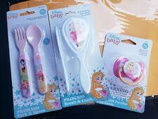 Disney Baby Princess Comb Silverware Brush Set W/ Pacifier - Belle