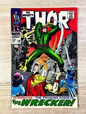 The Mighty Thor #148 (Marvel Comics) 1st appearance of the Wrecker Silver Age
