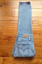 GORGEOUS! LEVIS Mid Rise Skinny Jeans 6 P ACTUAL W27 L27 HOT FACTORY WASH/FADE!