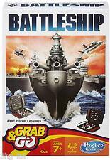 Hasbro infantil divertido tiempo Battleship Grab and Go Fácil Portátil viajando