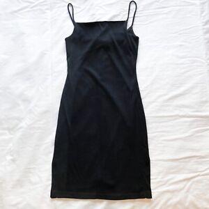 Miss Shop 90's Mini Dress Size 8 Black