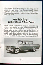 Prospekt brochure 1962 American Motors Rambler (USA)