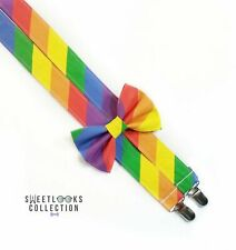 Rainbow Suspenders By SweetLooks Collection