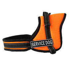 Service Dog Harness soft Padded Non Pull Pet Dog Adjustable Harness Chest Vest