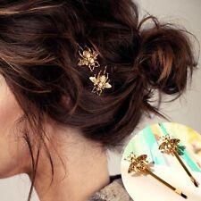 1X Biene Haarnadel Seite Clip Haarspange Haarnadel Spangen Geschenk Haarschmuck