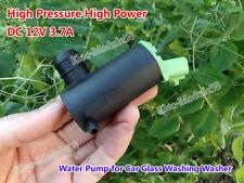 High Pressure High Power DC 12V 3.7A Water Pump Washer F Car Glass Wash Washing