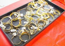Jewelry Chain Store Liquidation Wholesale Lots Gold Plated Earring 18 Pair