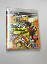 ANARCHY REIGNS ED. LIMITATA PS3 PLAYSTATION 3 PAL NUOVO SIGILLATO