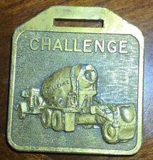 Challenge Cement Mixer Truck Equipment Co. Dozer Watch Fob CAM-2