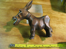 HICKOK WILD ASS ONAGER CORKSCREW / BOTTLE OPENER  CARVED WOOD VINTAGE FRANCE