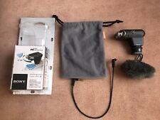 Micrófono Estéreo Sony ECM XYST1M