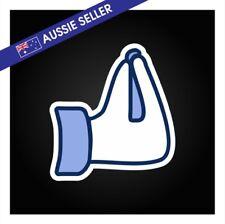 Italian Hand Gesture FB Like Sticker Decal -  Funny Wall Family Familia Rotary