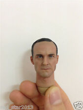 1/6 Agent Phil Coulson Head Carving Male Head Model F 12'' Man Body