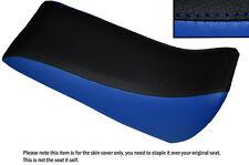 BLACK & R BLUE CUSTOM FITS QUADZILLA SMC RAM 250 DUAL LEATHER QUAD SEAT COVER