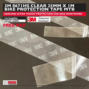 3M Helicopter Tape Bike Protection 25mm x 1metre | 8671HS MTB Frame Protection