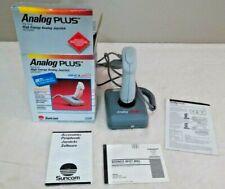 Suncom Analog Plus High Energy Joystick for IBM PC & Apple II Box Instructions
