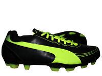 Puma evoSpeed 5.2 FG Kinder Fußballschuh schwarz Nocken Fussball Junior 35 - 39