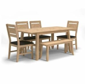 Chicago Dining Table and 4 Chairs