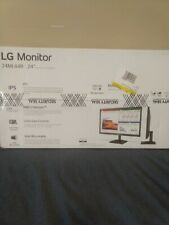 "LG 24"" 24ML44B LED Monitor New-in-Box 1920 x 1080 FHD IPS AMD FreeSync"